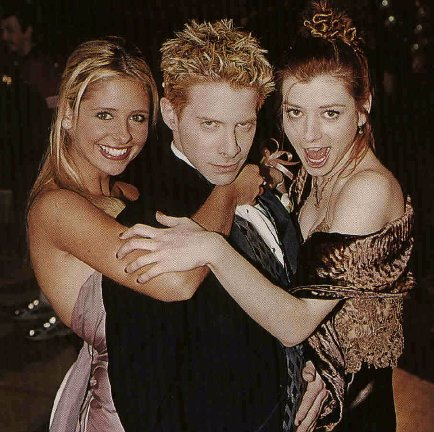 Willow, Oz and Buffy
