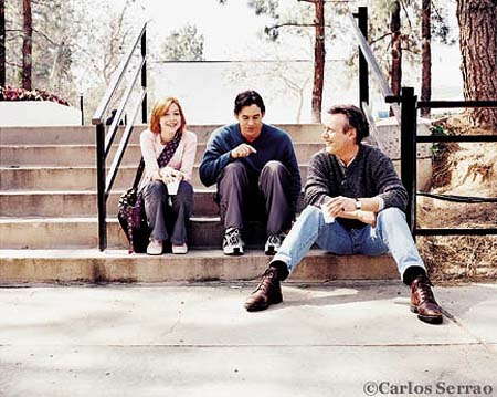 Alyson Hannigan, Anthony Stewart Head and Nicholas Brendon