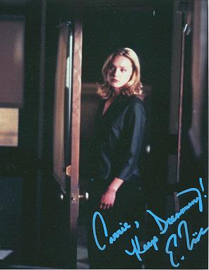 Carita - Autographed Elizabeth Rohm picture