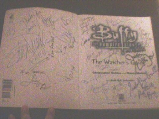 fibs - Autographed Watchers Guide